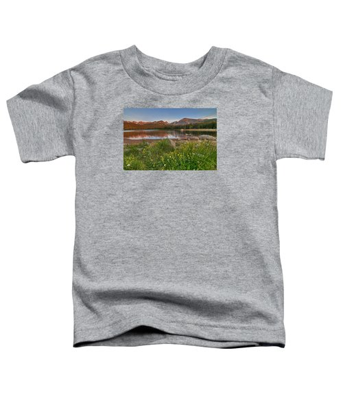 Brainard Lake Toddler T-Shirt by Gary Lengyel