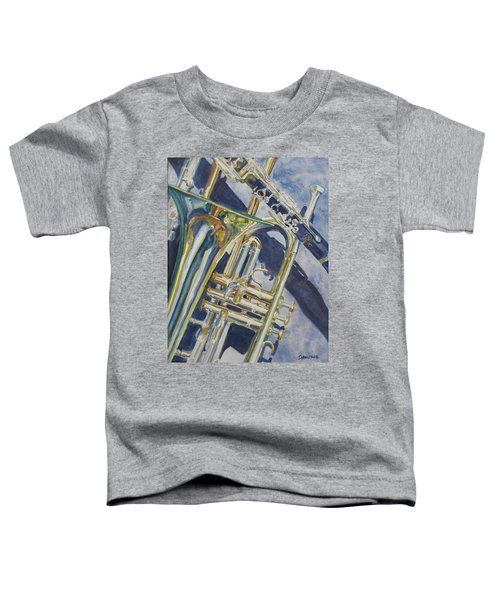 Brass Winds And Shadow Toddler T-Shirt