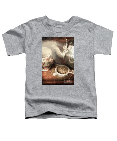Breakfast In Bed At A Bed And Breakfast Toddler T-Shirt