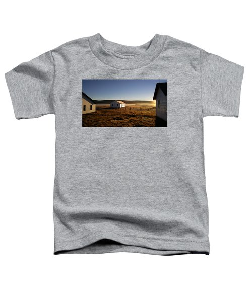 Toddler T-Shirt featuring the photograph Breakfast In The Air by Carl Young