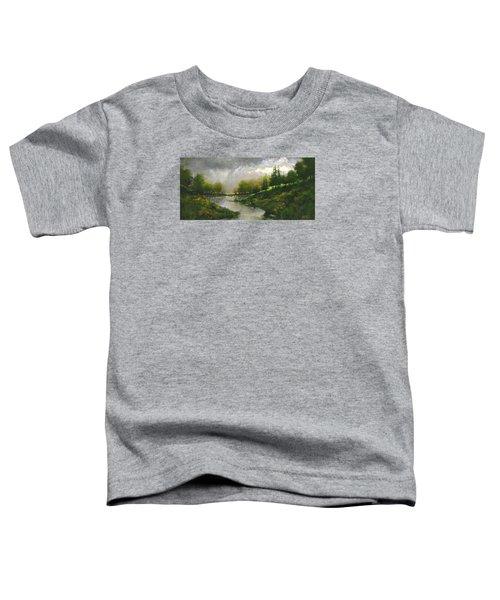 Breaking Clouds Toddler T-Shirt