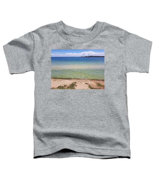 Bribie Ocean  Toddler T-Shirt