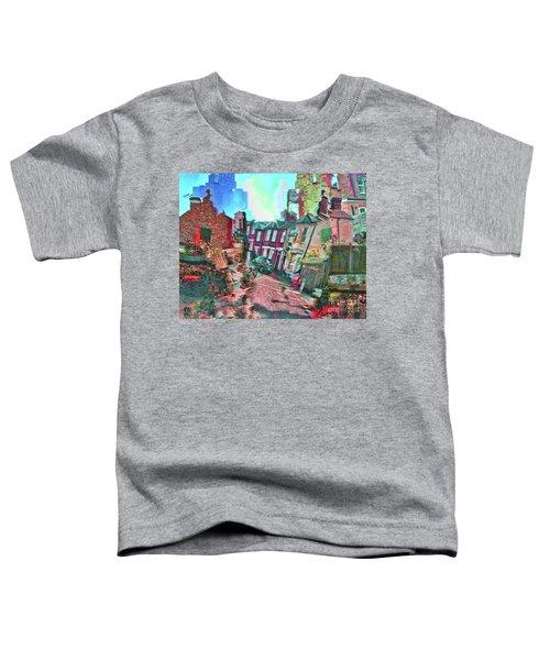 Bricks And Mortar Toddler T-Shirt