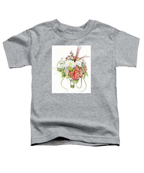 Bridal Bouquet Toddler T-Shirt