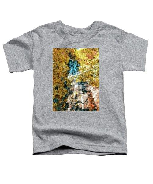 Bridal Veil Falls In Yellow Toddler T-Shirt