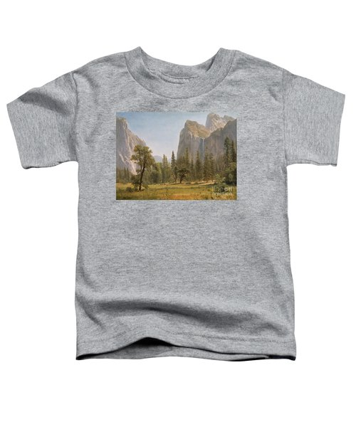 Bridal Veil Falls Yosemite Valley California Toddler T-Shirt