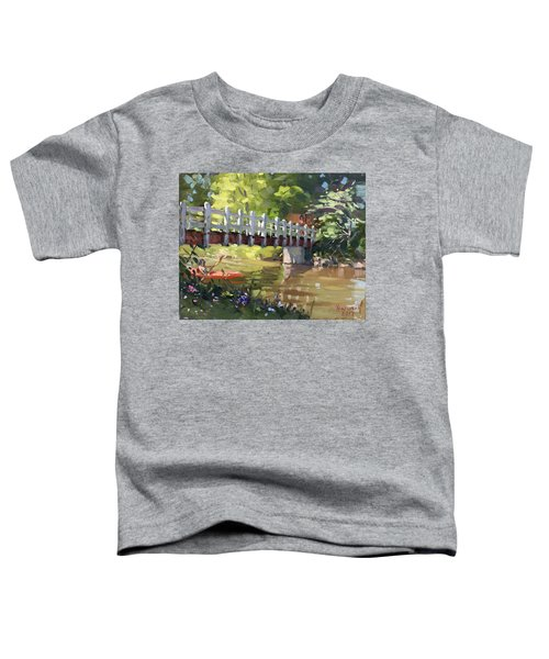 Bridge At Ellicott Creek Park Toddler T-Shirt