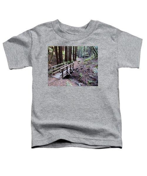Bridge In The Redwoods Toddler T-Shirt