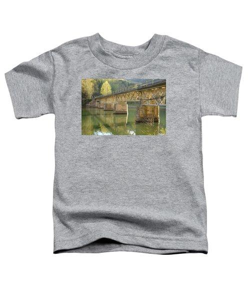 Bridge Over Calm Water Toddler T-Shirt