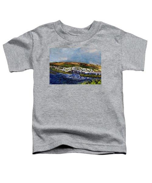 Bridge Over The Marsh Toddler T-Shirt