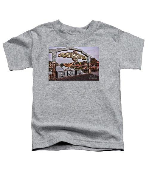 Bridge Sign Color Hoi An Toddler T-Shirt