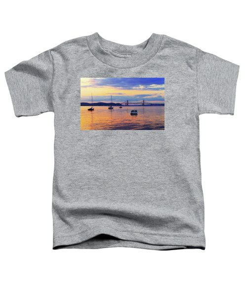 Bridge Sunset Toddler T-Shirt