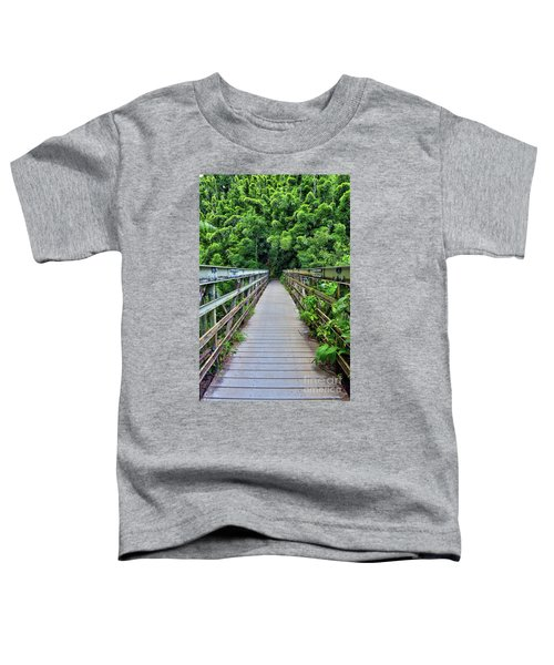 Bridge To Bamboo Forest Toddler T-Shirt