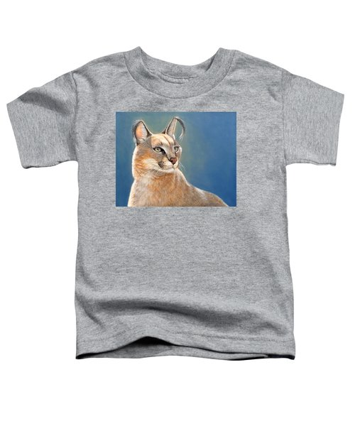 Bright Eyes - Caracal Toddler T-Shirt