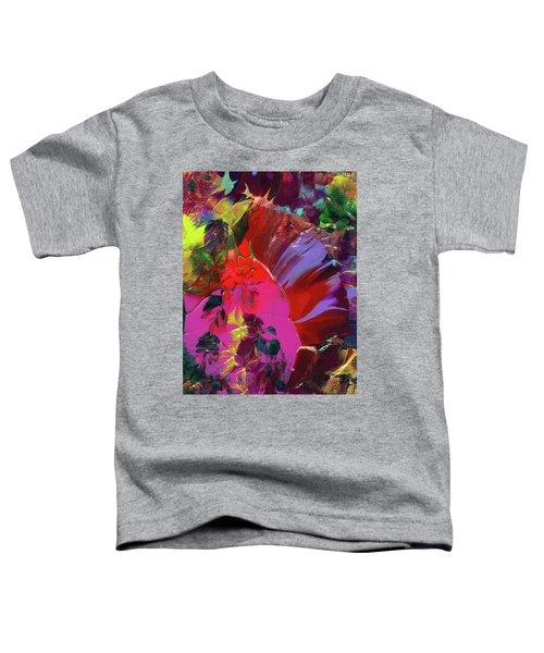 Bright Flaming Sun Flares Toddler T-Shirt