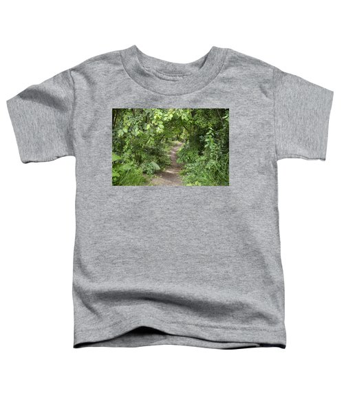 Bright Path In Leafy Forest Toddler T-Shirt