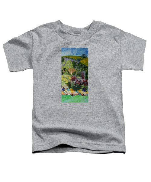 Brightly Colored Devon Landscape - Dartmouth England Toddler T-Shirt