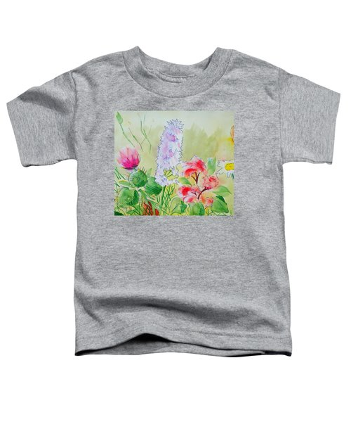 British Wild Flowers Toddler T-Shirt