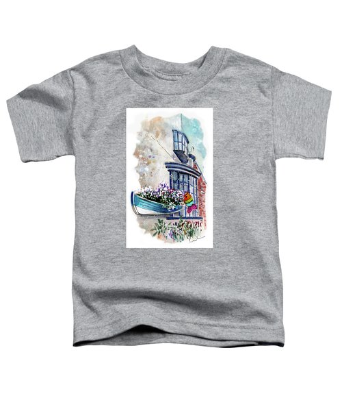 Broadies By The Sea In Staithes Toddler T-Shirt