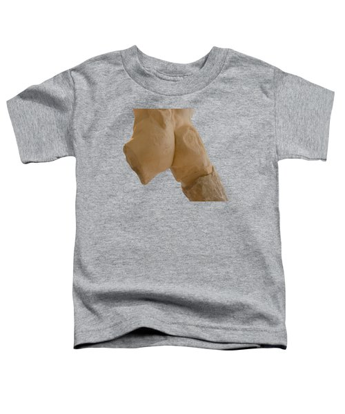 Broken Naked Greek Male Statue From Back Toddler T-Shirt