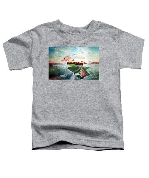 Broken Pane Toddler T-Shirt