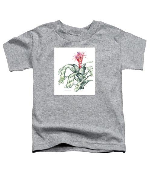 Bromeliad Aechmea Fasciata Toddler T-Shirt