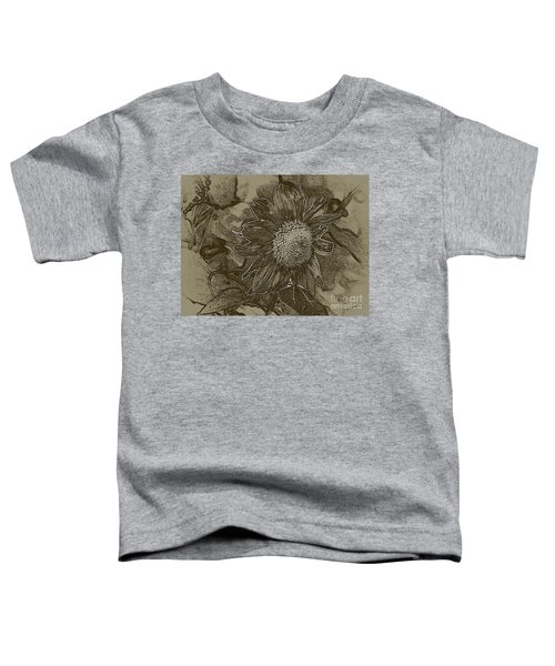 Bronzed Out Sunflower Toddler T-Shirt