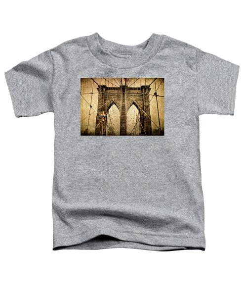 Brooklyn Bridge Nostalgia Toddler T-Shirt