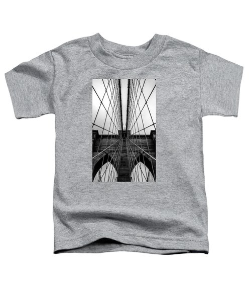Brooklyn's Web Toddler T-Shirt by Az Jackson
