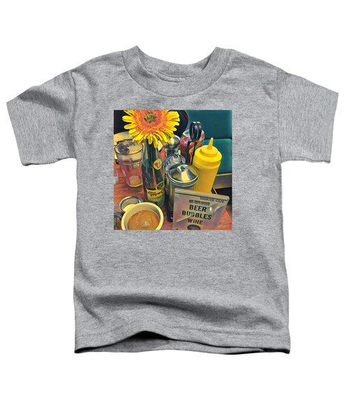 Brunch At Counter Cafe Toddler T-Shirt
