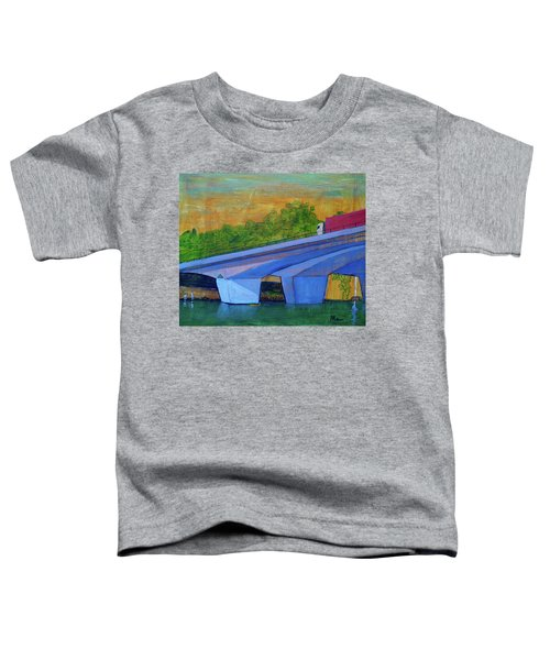 Brunswick River Bridge Toddler T-Shirt