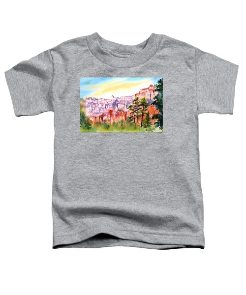 Bryce Canyon #3 Toddler T-Shirt