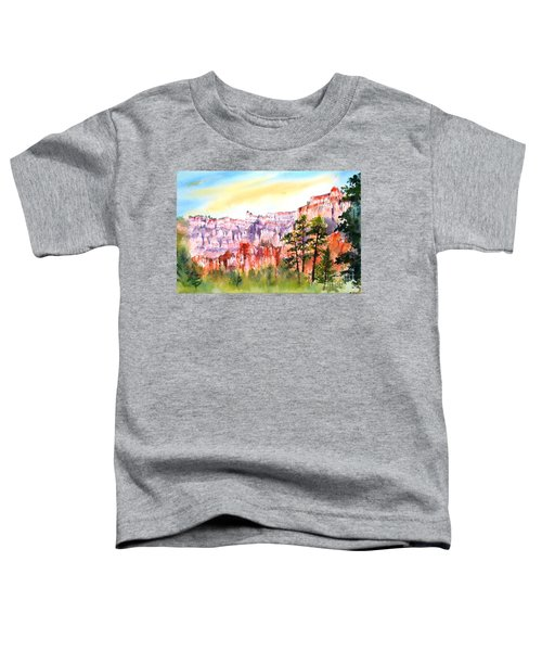 Bryce Canyon #3 Toddler T-Shirt