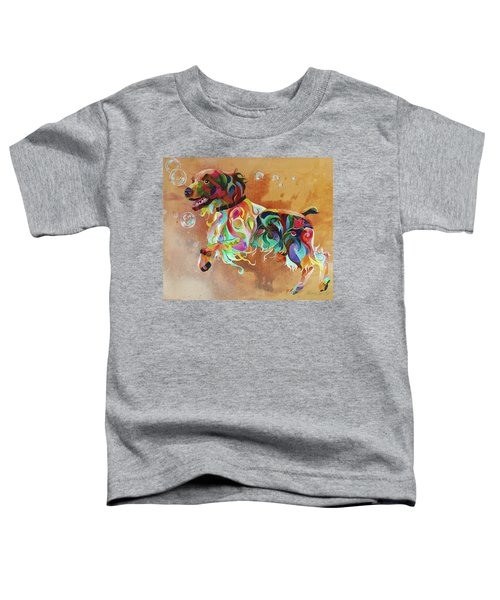 Bubbles  English Springer Toddler T-Shirt