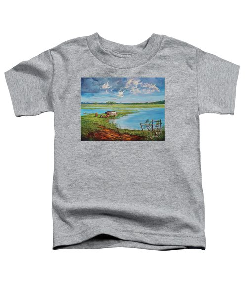 Bucolic St. John's Toddler T-Shirt