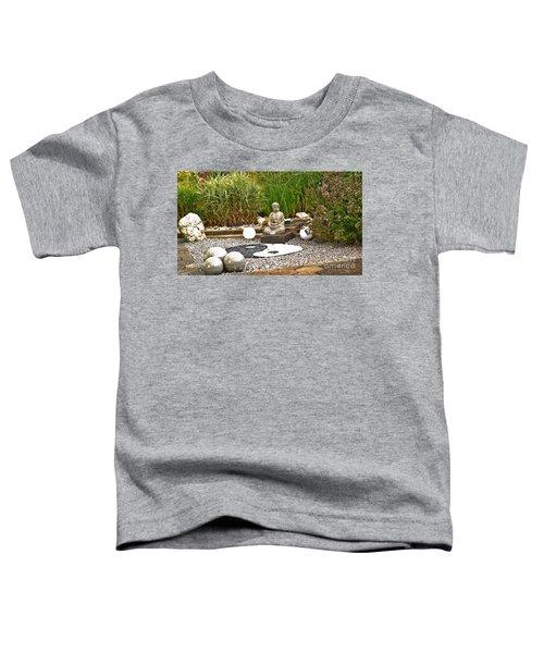 Buddha Looks At Yin And Yang Toddler T-Shirt