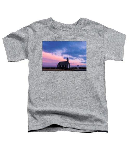 Budir Black Church Toddler T-Shirt