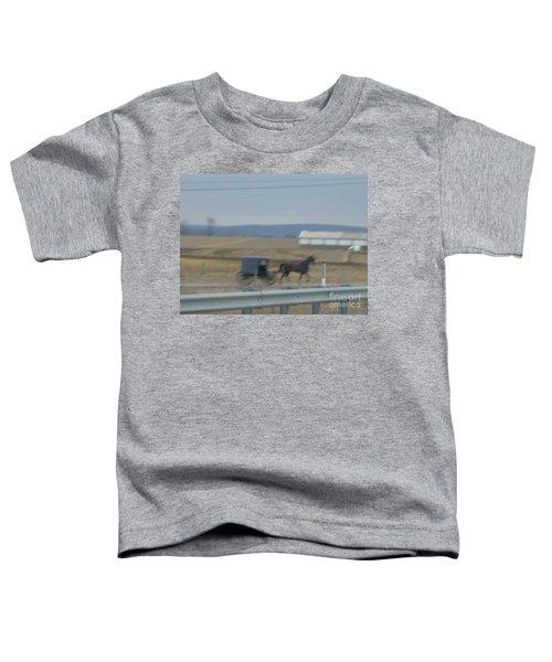 Buggy Ride Three Toddler T-Shirt