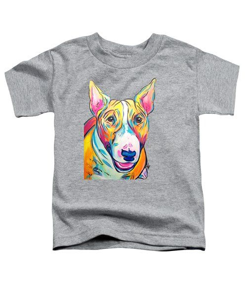 Bull Terrier Toddler T-Shirt