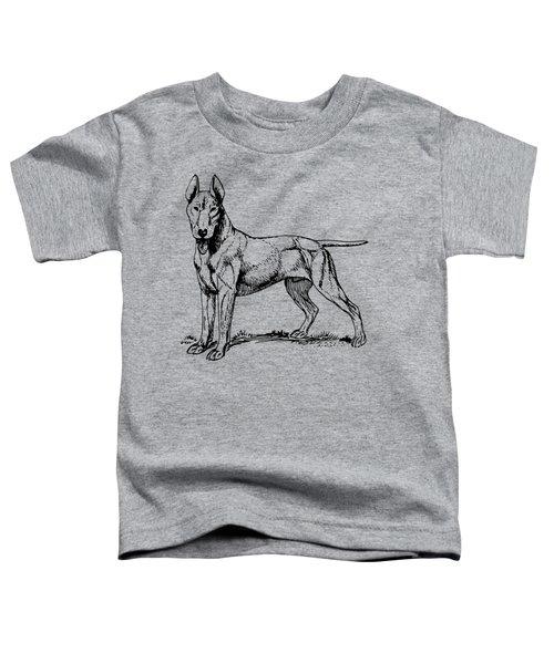 Bull Terrier Toddler T-Shirt