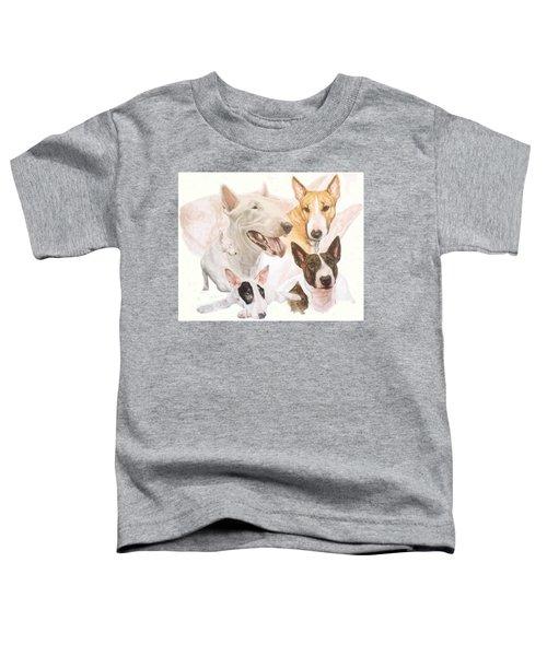 Bull Terrier Medley Toddler T-Shirt
