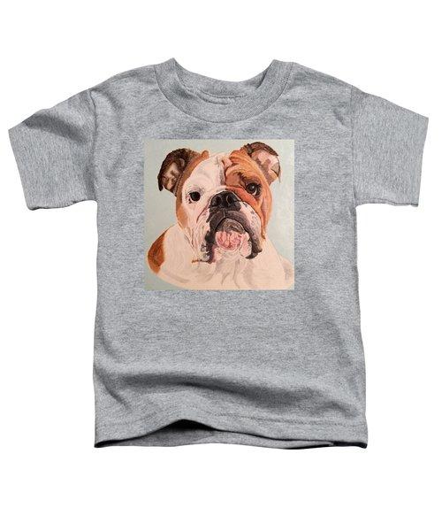 Bulldog Beauty Toddler T-Shirt