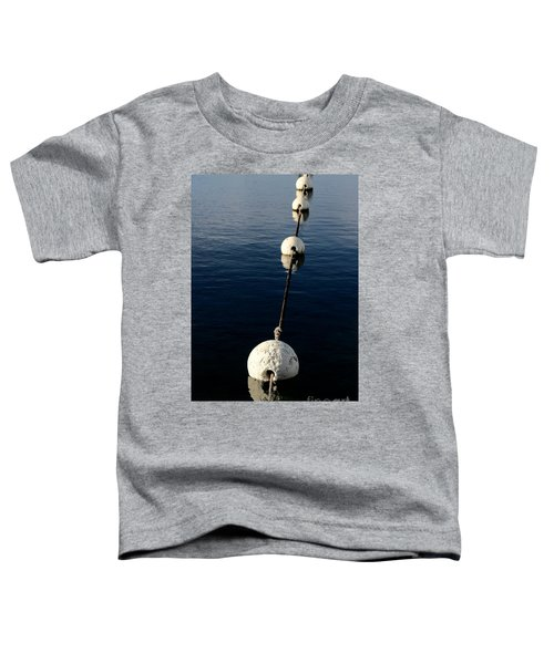 Toddler T-Shirt featuring the photograph Buoy Descending by Stephen Mitchell