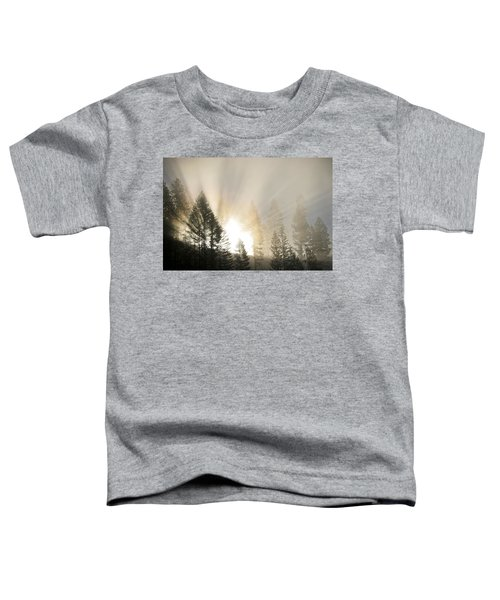 Burning Through The Fog Toddler T-Shirt