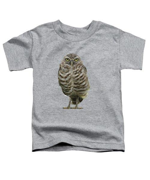 Burrowing Owl Lookout Toddler T-Shirt