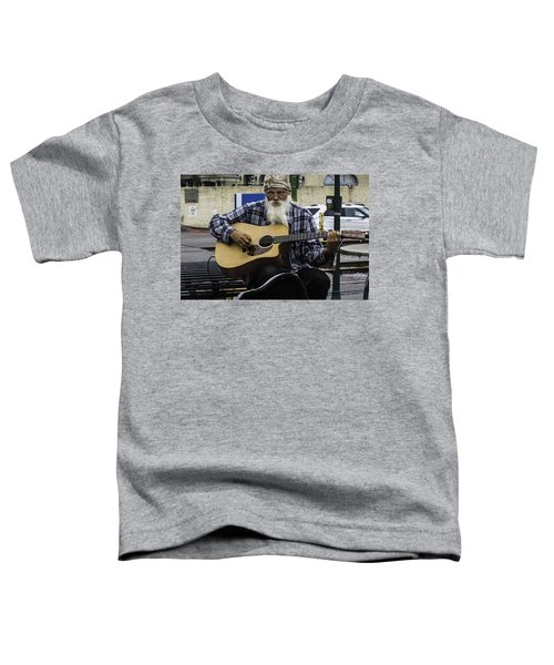 Busking In New Orleans, Louisiana Toddler T-Shirt