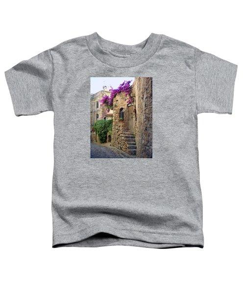 Bussana Vecchia Street Toddler T-Shirt