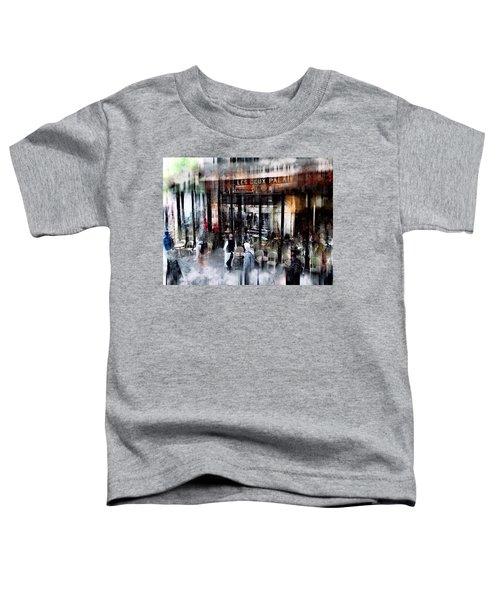 Busy Sidewalk Toddler T-Shirt