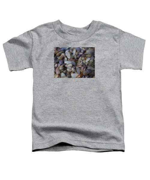 Buttefly Clam Rainbow Toddler T-Shirt