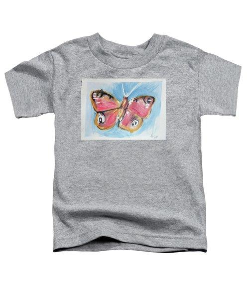 Butterfly 3 Toddler T-Shirt